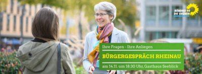 Bürgergespräch Rheinau @ Gasthaus Seeblick